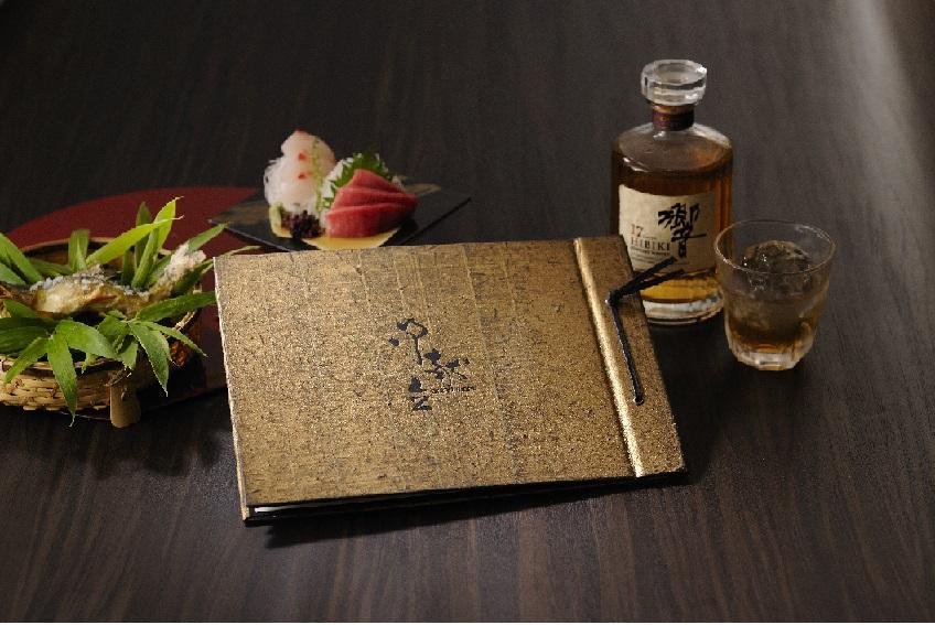 和食の気品を引き立てるメニューブック『金色』
